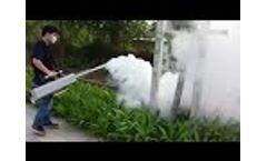 Thermal Fogger Machine Model TS 36S || Longray Fogger Machine Latest 2018 || Thermal Fogger Machine Video