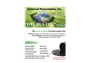 Oil Buster for Oil Spill Cleaning On Hard Surfaces - Brochure