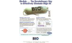 BioSok Boat Bilge Fuel and Oil Spill Absorption and Remediation - Brochure