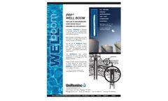 WellBoom - Oil and Liquid Petroleum Well Monitoring Clean Up - Brochure