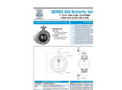 """AWWA - C504 Flanged 3"""" to 24"""" - Butterfly Valves - Data Sheet"""