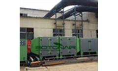 Video for industrial electrostatic precipitator