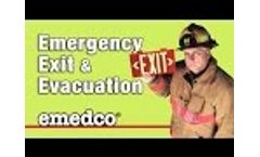 Emergency Exit & Evacuation Preparedness - Emedco Video