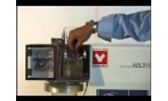 Yamato ADL-311S Spray Dryer Video - Part 3 of 3