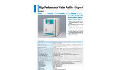 Yamato WG270 Super Auto Still Water Purifier - Brochure