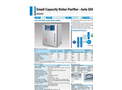 Yamato WG203 Auto Still Water Purifier - Brochure