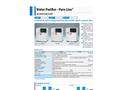 Yamato WL200/220/220T Pure Line Water Purifier - Brochure