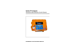 Vortex - FP - Flameproof Gas Detection Control System User Manual