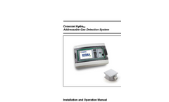 Hydra - 32 & 256 - Addressable Car Park Gas Detection System User Manual