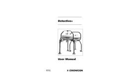 Detective Plus - Transportable Multigas Area Monitor User Manual