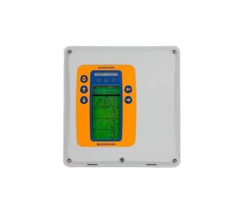 Gasmaster - Model 1-4 Channel - Compact, Versatile and Powerful Gas Detection Control Panel