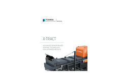 TOMRA - Model X-Tract - Waste Separator with X-Ray Technology - Brochure