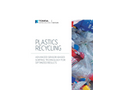 Plastics Recycling - Applications  Brochure