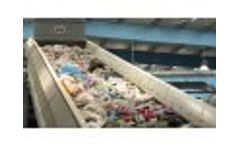 Mixed Municipal Solid Waste Sorting, Larnaca, Cyprus Video