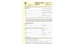 IFAT ENTSORGA 2012 - Application Form Exhibitors
