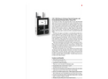 Particles Plus - Model 5301-AQM and 5302-AQM - Air Quality Monitors (CO2, Temp, RH, and TVOC) - Datasheet