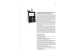 Particles Plus - Model 7301-AQM and 7302-AQM - Indoor Remote Air Quality Monitors (CO2, Temp, RH, and TVOC) - Datasheet