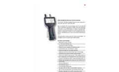 Particles Plus - Model 8206 - Handheld Particle Counter (0.2 µm @ 0.1 CFM) Datasheet