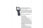Particles Plus - Model 8306 - Handheld Airborne Particle Counter - Datasheet