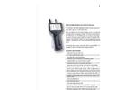 Particles Plus - Model 8506 - Handheld Airborne Particle Counter - Datasheet
