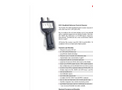 Particles Plus - Model 8303 and 8503 - Handheld Airborne Particle Counter - Datasheet