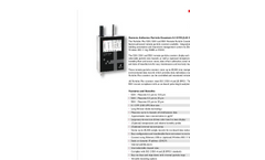 Particles Plus - Model 5301 and 5501 - Remote Airborne Particle Counter - Datasheet