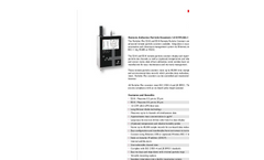Particles Plus - Model 5310 - Remote Particle Counter (0.3 µm @ 1.0 CFM) Datasheet