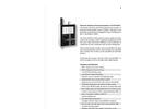 Particles Plus - Model 5510 - Remote Particle Counter (0.5 µm @ 1.0 CFM) Datasheet