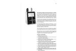 Particles Plus - Model 7201 - Remote Particle Counter (0.2 µm @ 0.1 CFM) Datasheet