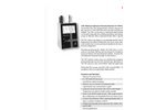 Particles Plus - Model 7301 and 7501 - Remote Airborne Particle Counter - Datasheet