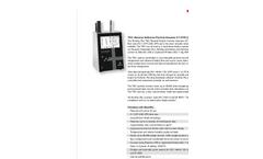 Particles Plus - Model 7501 - Remote Particle Counter (0.5 µm @ 0.1 CFM) Datasheet
