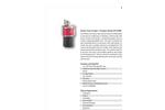 Particles Plus - Model UM-27000 - Rotary Vane Vacuum / Pressure Pump Datasheet