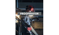 TST - ProOperator - High Pressure Cleaning Protection Up to 500 Bar - Brochure