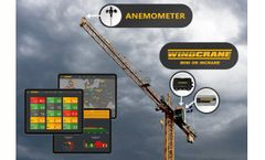 WINDCRANE - Tower Crane Wind Speed Data Software