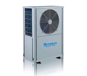 SPRSUN - Model CGK/C-9 and CGK/C-12 - Monoblock Air Source Heat Pump for Domestic Hot Water and House Heating