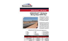 DRISCOPLEX - 1700 Series - Mining Pipe Brochure