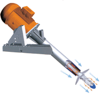 Pulsair`s industrial mixers for paints & coatings industry - Paint