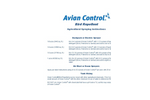 Avian - Liquid Bird Repellent Product  Brochure