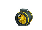 Model Max-Fan PS 200 2 Speed Fan - 1218m³/hr - Compact 3D Rotor-Stator System
