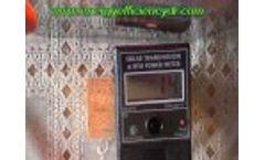 Heat Test - Inflector Window Insulators - Video