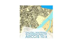 Digital Mapping with ArcGIS 10.x and Autocad Map 3D - Online GIS Training