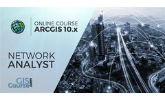 Arcgis Course, How to use Network Analyst extension – Online GIS Training