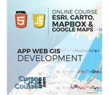 Development of Web Based GIS Applications using ESRI products, Carto, Mapbox and Google Maps – Online GIS Training