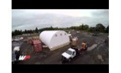 WeatherPort Canopy vs. Pop-Up Canopy - Wind Test! Video