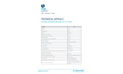 Standard Wendewolf® Model Sw-12 System - Technical Data