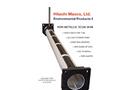 Model FRP - Non-Metallic Scum Skimmer Pipe Assembly Brochure