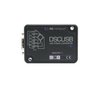 Model DSCUSB - Strain Gauge to USB Converter