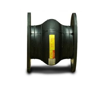 Molded Wide Arch Expansion Joint for Plastic/FRP Piping Systems-1