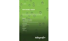 RIW - Double Drain Brochure