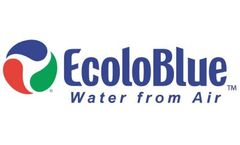 EcoloBlue - Model EB30s - 30 Liter/Day Home/Office Atmospheric Water Generator w/ Carbonated Water